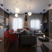 Квартира для молодого человека.
