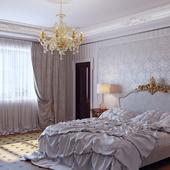 спальня, классика