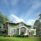 Оливковый домик