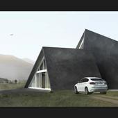 Загородный дом в горной местности