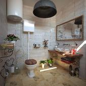 village bathroom