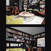 Кабинет-библиотека в загородной резиденции в Черкассах, UA