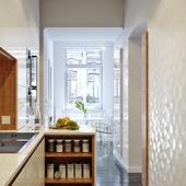 Интерьер кухни в квартире. Львов, UA