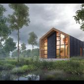 Загородный дом для отдыха