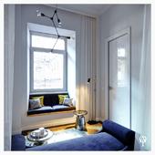 Спальня в Львовской квартире