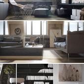 Дизайн квартиры. Мансарда.