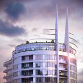"""3d визуализация для """"Skyline-Kiev"""""""