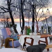 в жаркие дни хочется глоток зимы
