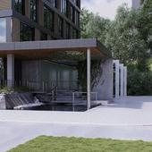Реконструкция старого бассейна в Первомайском парке