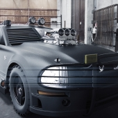 Ford Mustang concept/ First Race