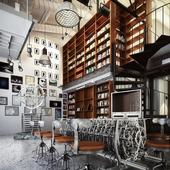 Steampunk cafe INTERVAL San Francisco