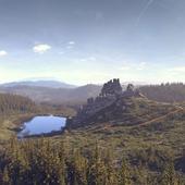 Ландшафт для исторической реконструкции крепости