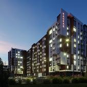 Визуализация многоэтажки