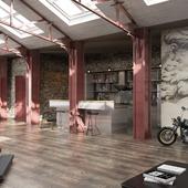 Квартира-студия в стиле LOFT