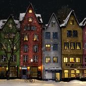 Отель-ресторан Stapelhäuschen. Кёльн, Германия
