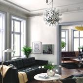 Stockholm apartment.
