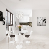 Design apartment in Moscow