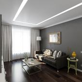 Интерьер квартиры | 53 м.кв