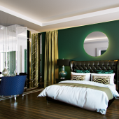 Mirrored Furniture ( wall) bedroom