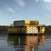 Модуль сооружения на воде