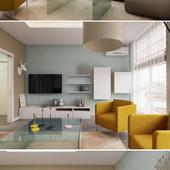 Modern apartment for girl