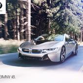 BMW I8 Forest