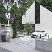 Autocad / 3d max / Corona 1.4 / Cs 6. Skandinav house . . .