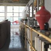 Close up квартира коллекционера в Гонконге