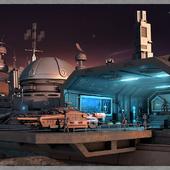 База космической разведки