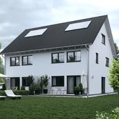 Жилой дом в Европе №003