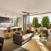 Real estate visualization. Essence st.