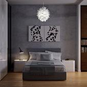 Спальная с пандами