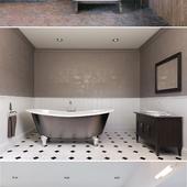Визуализация ванных комнат