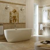 Ванная комната на конкурс от SaliniS.r.l.  Модель LUCE