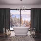 Ванная комната от Salini S.r.l. Ettora