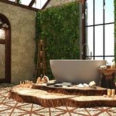 Ванная комната от SaliniS.r.l. LUCE