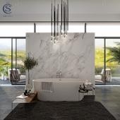 Работа на конкурс Salini S.r.l. Модель ванны - LUCE.