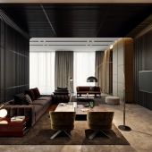TOL'KO / Luxurious apartment at Moscow city