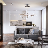 Apartment in Moscow 50m2