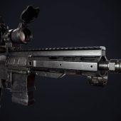 AR-15 с Aimpoint CompM3