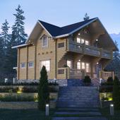 Дом в приэльбрусье