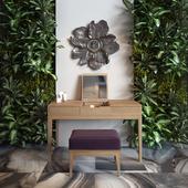 OPIUM vanity table