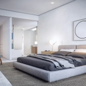 Prince St Bedroom - Interior