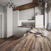 Visualization of the kitchen