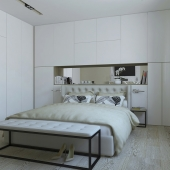 Bedroom design for a young family