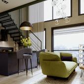"""Апартаменты в ЖК""""Tribeca"""""""