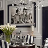 Столовая-гостиная Ralph Lauren