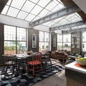 3D-визуализация квартиры в Чикаго