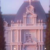 Пробный render утреннего фасада