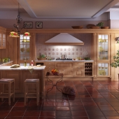 Kitchen in English style